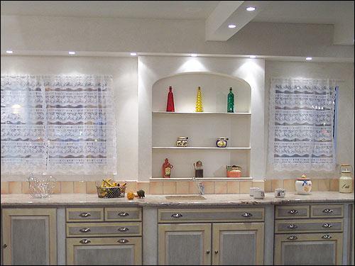 cuisine provencale jaune bleu image sur le design maison. Black Bedroom Furniture Sets. Home Design Ideas