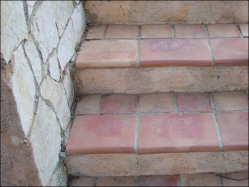 Provencal terracotta salernes var bathroom terracotta for Carrelage terre cuite provence
